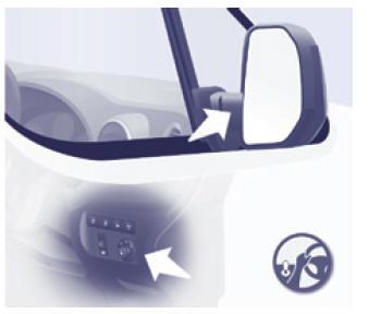 manuel du conducteur citroen berlingo multispace r troviseurs r troviseurs et vitres. Black Bedroom Furniture Sets. Home Design Ideas